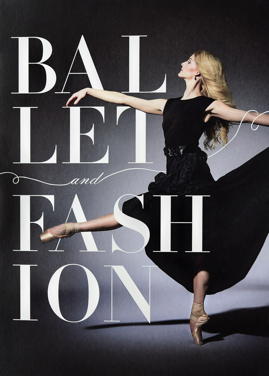 Advertising for Ballet and Fasion show.