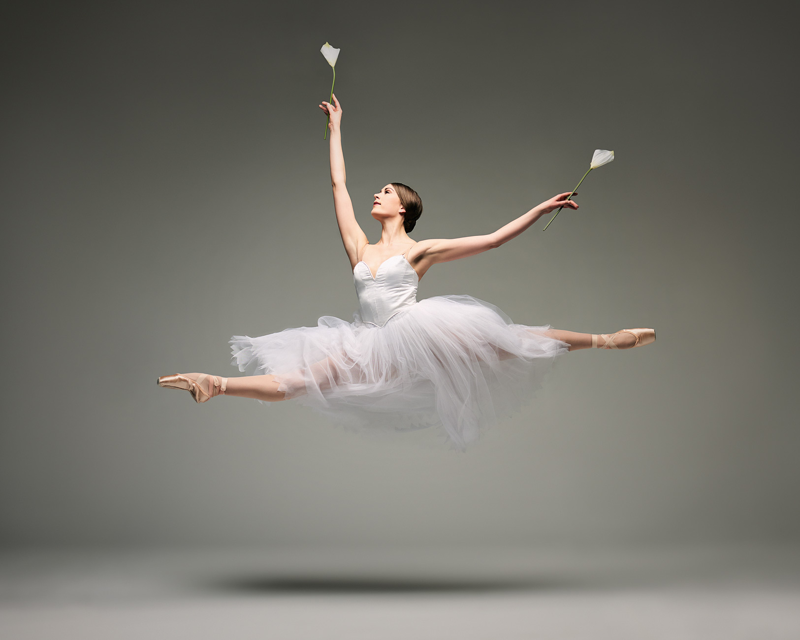 Saint Louis ballet marketing image for Giselle in 2017.