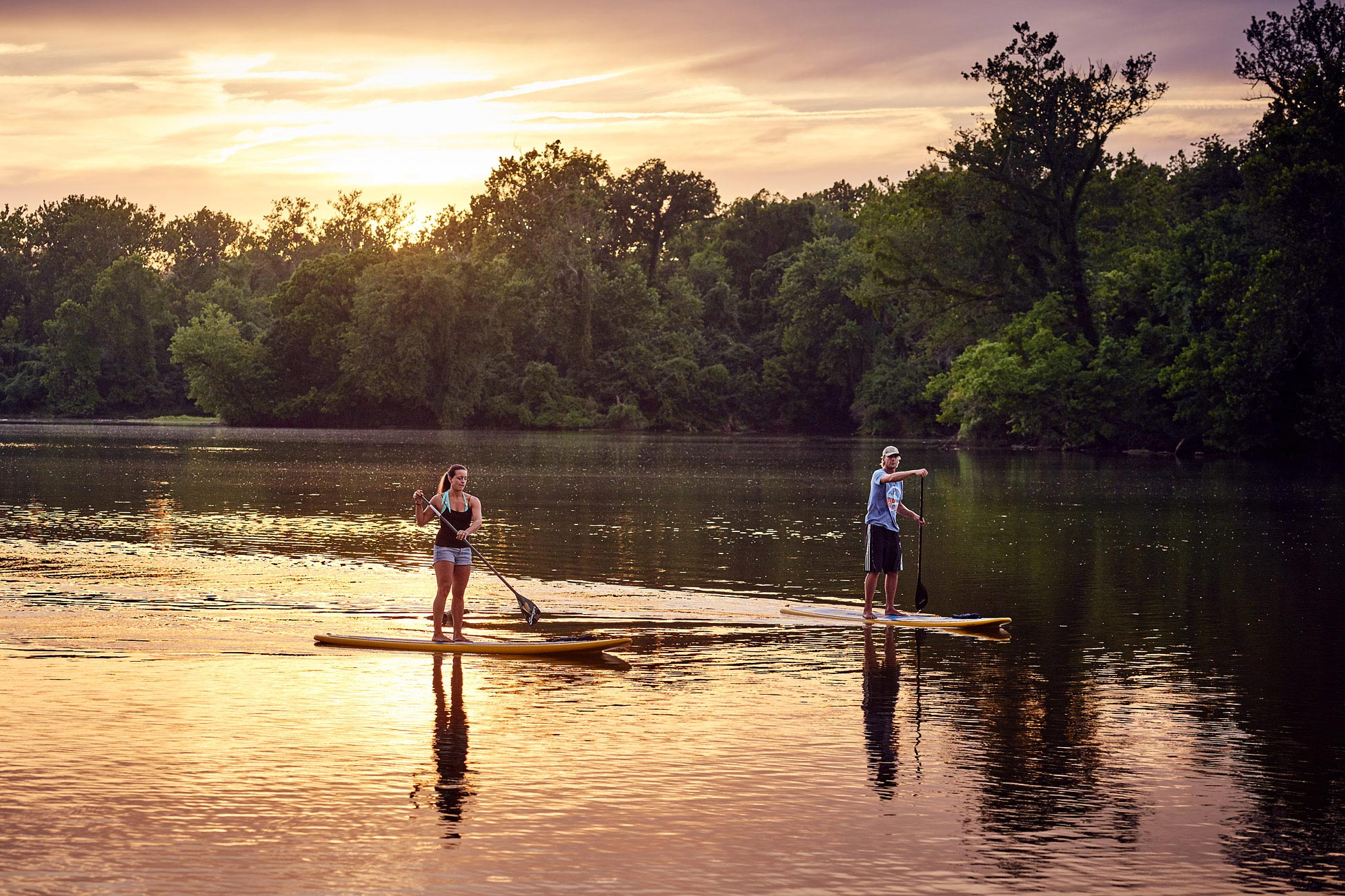 Standup_Paddle_Board_Sunset
