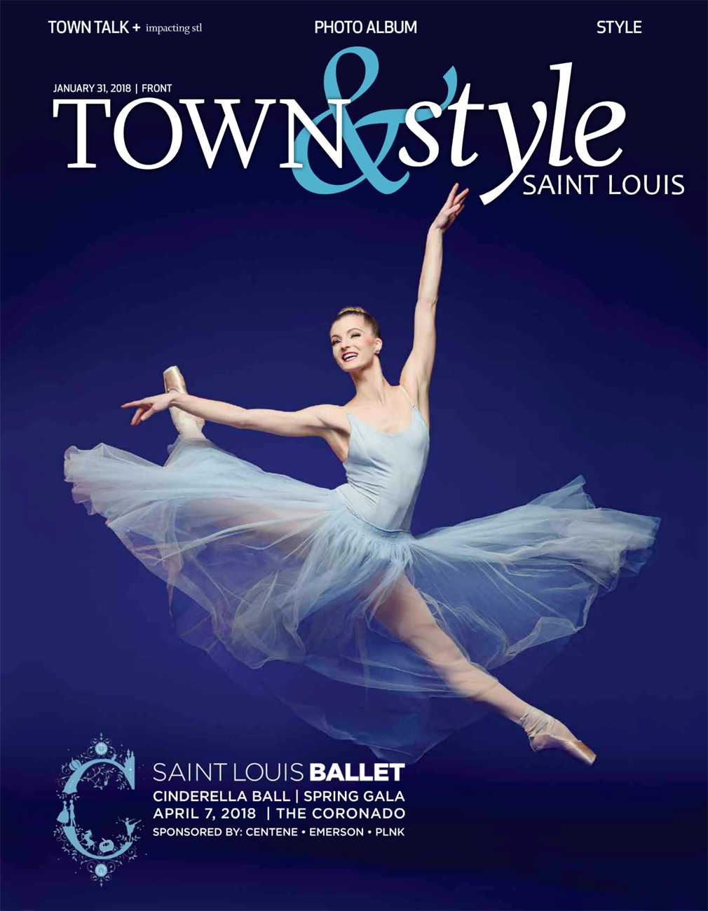 Town & Style Magazine Cover January 2018