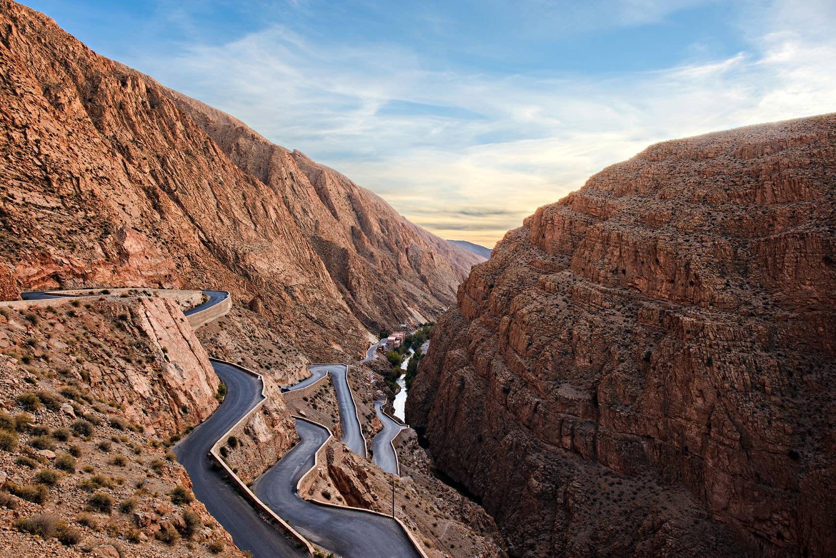 Dades Gorge in Morocco.